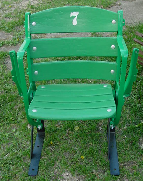 Met Stadium seat refurbished